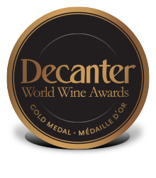 Decanter - Gold medal