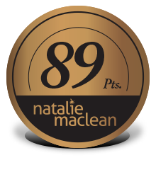 Natalie MacLean - 89 points